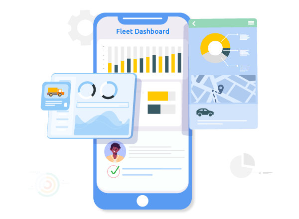 CloudApper Fleet and is accessible through the fleet mobile or web dashboard