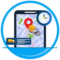 Real-time GPS monitoring for locating every vehicle